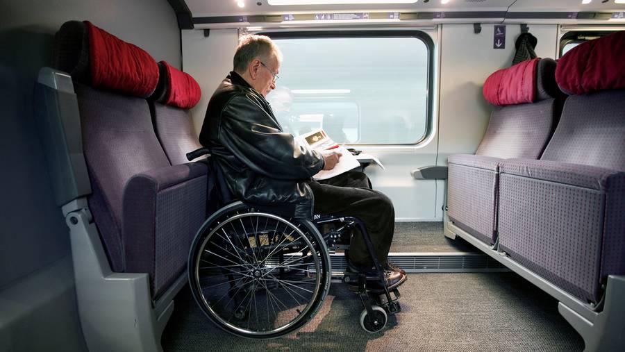 Reservationen sind auch für gehbehinderte Passagiere nur im oberen Stock möglich