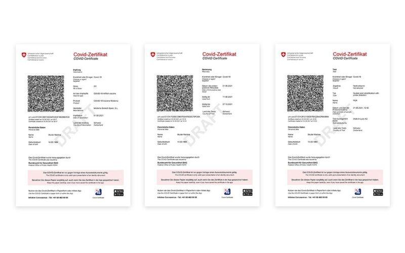 Covid-Zertifikat beantragen