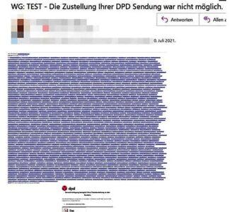 Phishing-Mailadressaten