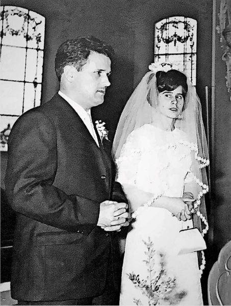 Heiratsbild: Maria-Theresia und Hans Müller 1970